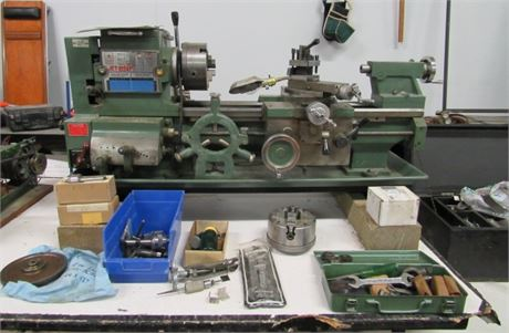 Awesome JET-1024P Metal Lathe with All Extras & Pictured Components
