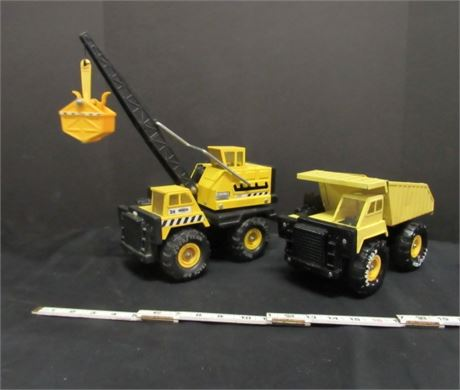 Collectible REMCO Goodyear Dump Truck & Bucket Loader