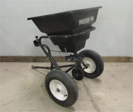 Tow Behind Broadcast Spreader for ATV or Lawn Tractor